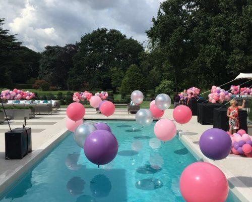 Bubblegum Balloons, Pool Balloons